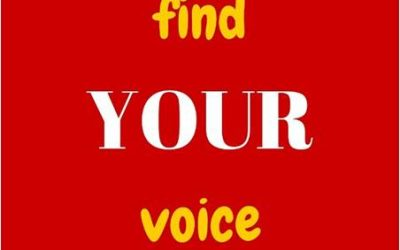How to Find YOUR Voice – in a Noisy Distracting Bullying World